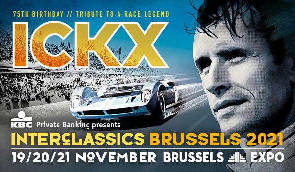 Inter Classics Brussels wordt verplaatst naar 19,20 en 21 november 2021