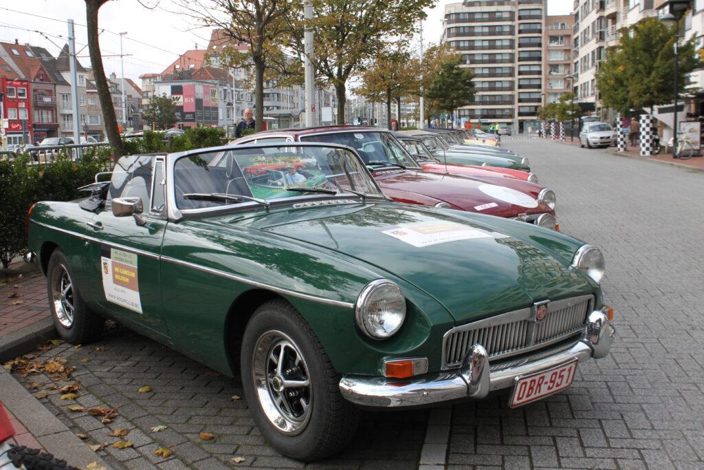 HERINNERINGEN  MG Car Club Belgium: Knokke-Zoute GP 2017 - Rally Oldtimers - Heist 6 October 2017