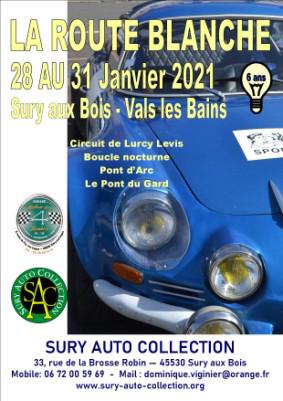 LA ROUTE BLANCHE 2021 wordt verplaatst naar 25 tot 28 februari 2021