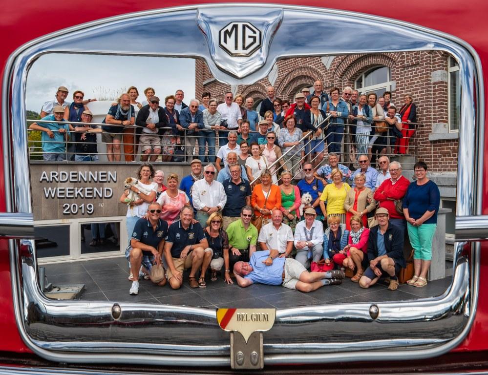 Jaarkalender MG Car Club Belgium 2021 afspraken rond te organiseren ritten en evenementen vanaf het terug mogelijk is