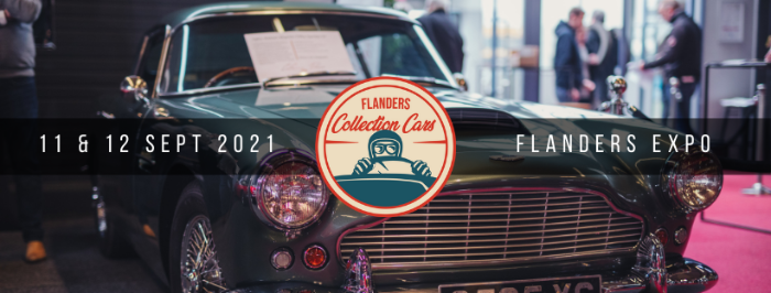 Nieuwe datum: 11 & 12 september 2021 Flanders Collection Cars