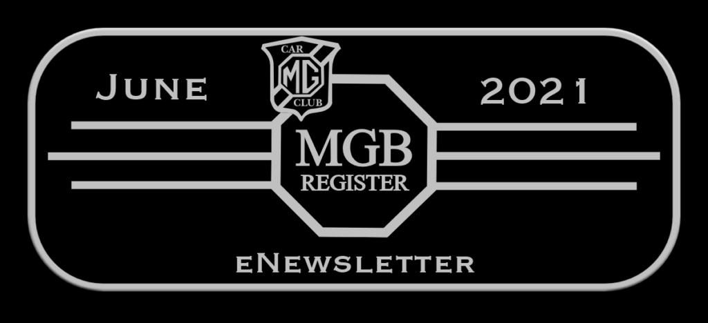 NEWSLETTER from MGB Register June 2021