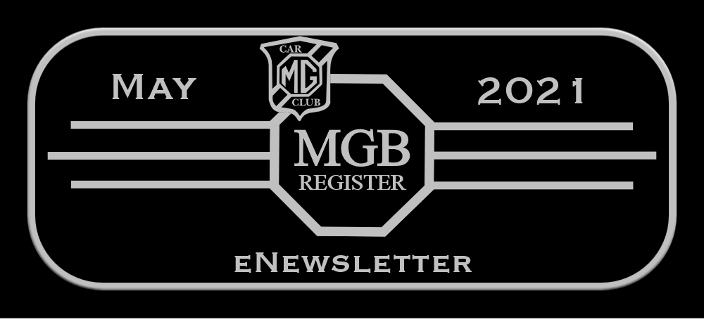 Newsletter from MGB Register MAY 2021